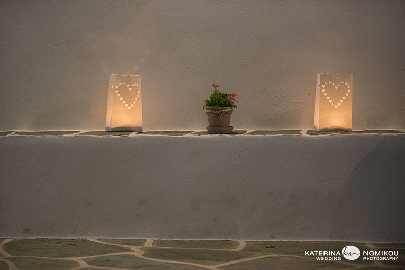 folegandros stolismos dexiwsi gamos reception decor wedding 2